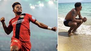 Leon Bailey Teases England Fans Over World Cup Spot