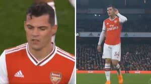 Granit Xhaka 'Refusing To Apologise' To Arsenal Supporters And Faces Punishment