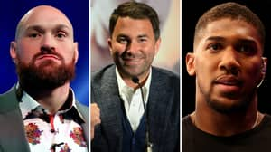 Fury Reveals Text Message Exchange With Hearn Ahead Of Potential Anthony Joshua Clash