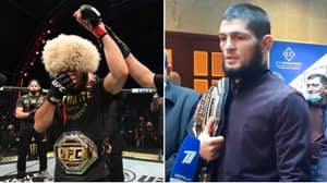 Khabib Nurmagomedov Opens Up On Decision To Retire From MMA After UFC 254 Win