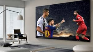 Samsung Unveils 219-Inch TV Called 'The Wall' And It's Every Football Fan's Dream