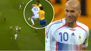 Zinedine Zidane's Highlights In The 2006 World Cup Vs Brazil Are Outstanding