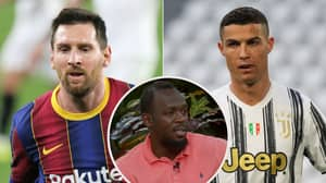 Usain Bolt Picks Between Lionel Messi And Cristiano Ronaldo In GOAT Debate