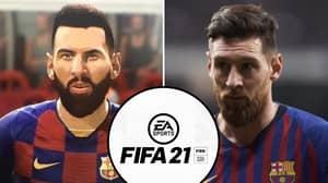 Lionel Messi Gets 'Major Facelift' In FIFA 21 After Fans Mocked His Shockingly Bad Face