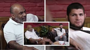 Fans Reckon Mike Tyson Was 'Too High To Speak' During Recent Hotboxin' Podcast With Khabib Nurmagomedov
