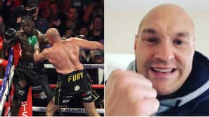 Tyson Fury Furiously Hits Back At Team Deontay Wilder's Glove Tampering Conspiracy Theory