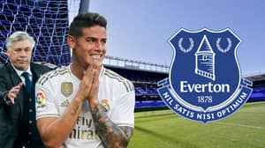 Everton 'In Pole Position' To Sign James Rodriguez For £43 Million
