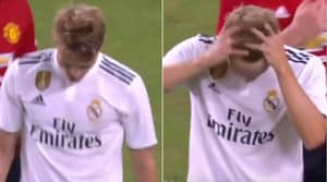 Martin Odegaard Substituted On, Then Substituted Off Just 31 Minutes Later