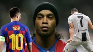 Willian Says Ronaldinho Is The Best Of All Time