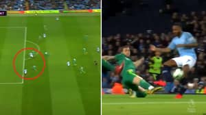 Raheem Sterling Scores For Manchester City Despite Being Offside In Controversial Moment