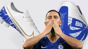 Eden Hazard Pays Tribute To Chelsea With New Custom Boots