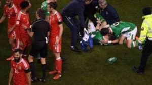 Joe Ledley Denies Laughing As Seamus Coleman Received Injury Treatment