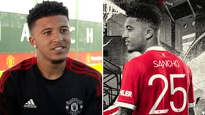 Manchester United Fans Claim Ivan Zamorano Theory Explains Jadon Sancho's Shirt Number At The Club