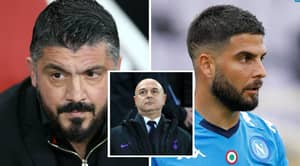 Gennaro Gattuso Slammed Tottenham In Angry Text To Napoli Star Lorenzo Insigne