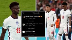 Football Association Slams Racist Abuse Directed At Marcus Rashford, Jadon Sancho And Bukayo Saka