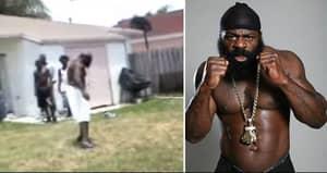 WATCH: Kimbo Slice's Street Fight That Made Him An Internet Sensation