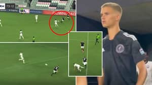 Romeo Beckham, 19, Made His Professional Debut In America Overnight