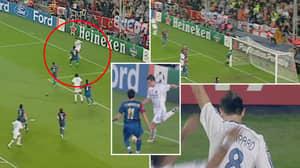 Frank Lampard Entering The Matrix To Score Spectacular 'Byline Chip' Vs Barcelona Still Needs Explaining
