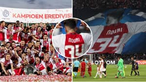 Ajax Dedicate 34th Eredivisie Title To Appie Nouri