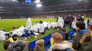 Gianfranco Zola Asked Chelsea's Bench To Sit Down So Fans Could Watch Pens