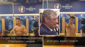 Cristiano Ronaldo's Emotional Speech Minutes After Portugal Won Euro 2016 Is Legendary
