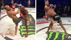 Michael Page Destroys Stand-In Opponent With Vicious Overhand Right in Bellator