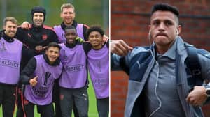 Alexis Sanchez Said Goodbye To His Arsenal Teammates Before 11pm Last Night After Huge Development