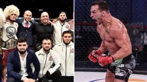 Khabib Nurmagomedov's Manager Makes Astonishing Claim About Michael Chandler Ahead Of UFC 254