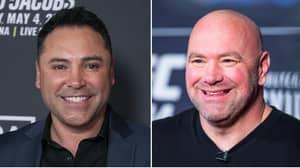 Oscar De La Hoya Fires Back At UFC President Dana White For Cocaine Comment