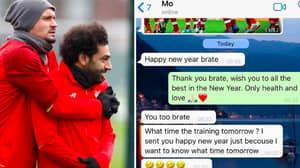 Dejan Lovren Reveals Hilarious WhatsApp Messages He Received From Mo Salah