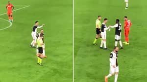 Cristiano Ronaldo Refuses To Wear Captain's Armband, Hands It To Blaise Matuidi