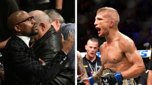 T.J Dillashaw Calls Out Floyd Mayweather, Following Boxer's Comeback Announcement