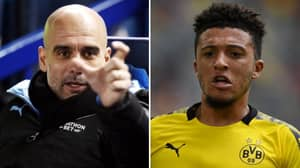 Pep Guardiola Responds To Idea That Man City Could Sign Jadon Sancho Ahead Of United