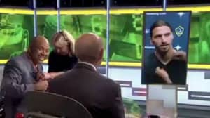 Zlatan Ibrahimovic Responds To Interviewer Who Pronounces His Name Wrong