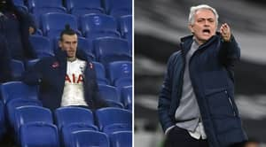 Angry Tottenham Fans Turn On Jose Mourinho And Gareth Bale After Spurs' 1-0 Defeat To Brighton