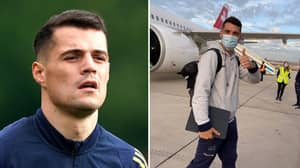 Arsenal's Granit Xhaka Is First Premier League Player Confirmed To Have Turned Down COVID-19 Vaccine