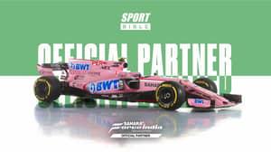 SPORTbible Announce Partnership With Sahara Force India