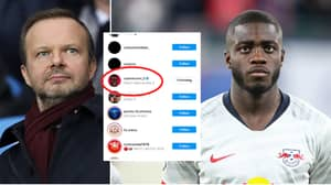 Dayot Upamecano 'Likes' Post Saying Manchester United Are Likely To Sign Him Next Summer