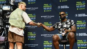 Jake Paul Makes Bet With Tyron Woodley, Loser Has To Get Rival's Name Tattooed On Them