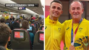 Aussie Boxer's Heartwarming Gesture During Flight Home From Tokyo Olympics