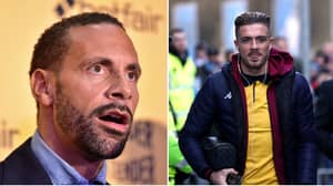 Rio Ferdinand Shocked By Man Utd Fan Who Says They Aren't 'Big Enough' To Sign Jack Grealish