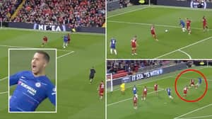 Eden Hazard Is Still Responsible For The Greatest Goals In Anfield History, He Was Genuinely Unplayable