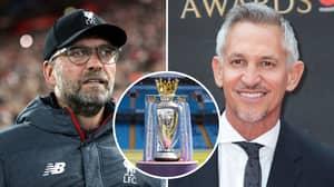 Gary Lineker Trolls Liverpool Fans After Jurgen Klopp's Men Move Eight Points Clear Of Manchester City