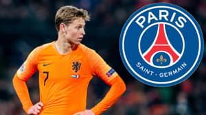 Ajax Sensation Frenkie De Jong Reportedly Chooses PSG, Set For €75 Million Summer Move