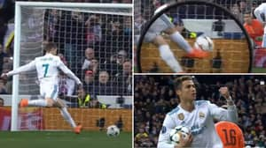 Cristiano Ronaldo Once Scored An Incredible 'Volley Penalty' That Still Defies All Logic
