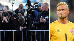 Kasper Schmeichel 'Saw Terrible Things' After He Rushed Out To Crashed Helicopter