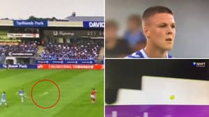 Emil Holm Took The World's Worst Free-Kick Last Night, He Genuinely Sent It To Outer Space