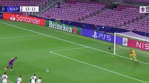 What Lionel Messi Was Doing As Luis Suarez Converted Penalty