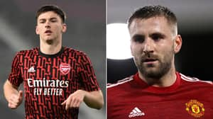 Arsenal Fans Reckon Kieran Tierney Is The Best Left-Back In The League After Gary Neville's Luke Shaw Claim