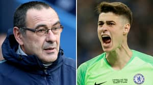 Maurizio Sarri Speaks Out After Kepa Arrizabalaga Incident In The EFL Cup Final